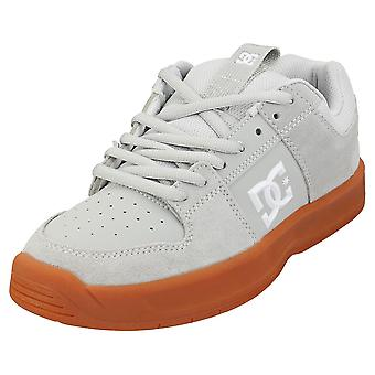 DC Shoes Lynx Zero Mens Skate Trainers in Grey White
