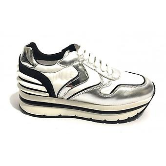 Running Voile Blanche Tc 45 Mod sneaker. May Power Silver/ White/ Black Woman Ds19vb01