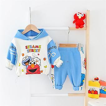 Baby Clothes Hooded Cartoon T-shirt Pants