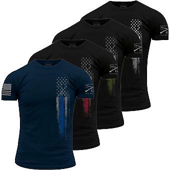 Grunt stil første respondere t-skjorte