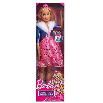 Barbie bedste mode ven prinsesse eventyr dukke 70cm