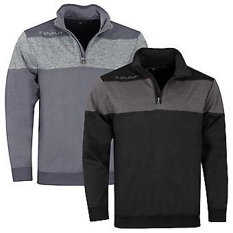 Stuburt Golf Mens 2021 Evolve Performance 1/4 Zip Stretch Golf Windproof Sweater