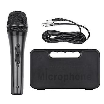 Microphone dynamique filaire portatif Micro cardioïde précis Détachable multifuctionnel