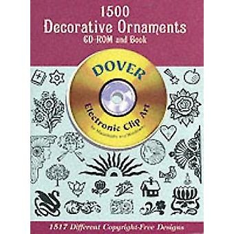 1600 Dekorativa ornament av Dover