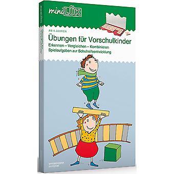 miniLK-Sets: miniLK-Set: Kindergarten/Vorschule: bungen fr Vorschulkinder: Kasten + bungsheft/e /