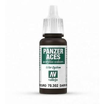 Vallejo Panzer Aces 2 Dark Rust - 17ml Acrylic Paint