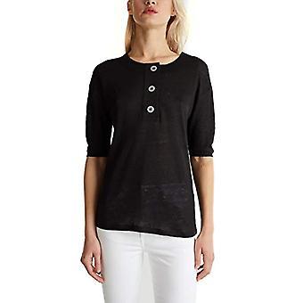 ESPRIT Collection 030EO1K319 T-Shirt, 001/black, XS Women