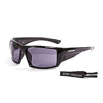 Ocean Sunglasses Aruba, Polarized Sunglasses, Frame: Brilliant Black, Lenses: Fume, 3200.1