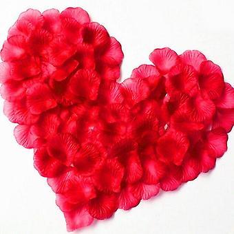 Keinotekoinen punainen kukka häät juhla koristelu