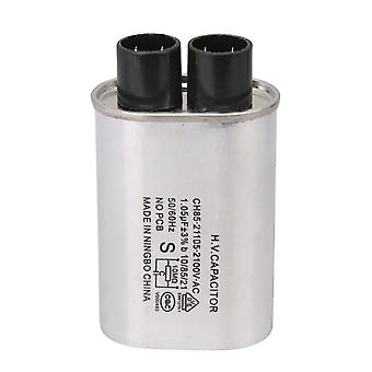 For 1.05UF 2100V AC Oven High Voltage Capacitor 2 with 2 Insert Compatible CH85 WS710