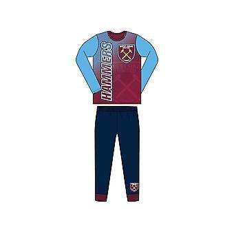 West Ham United Pyjamas Sublimation Print 7/8 jaar