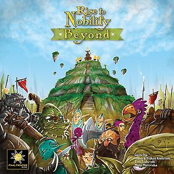 Rise to Nobility: Dincolo de board game