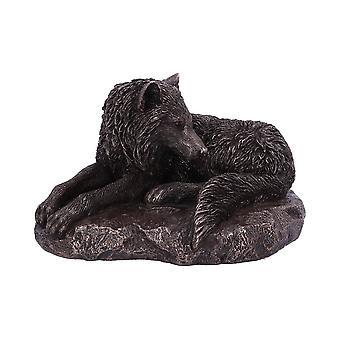 Estatueta de Lobo de Bronze do Norte