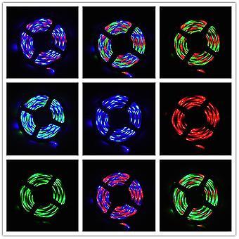 5M 3keys led lights flexible strip usb infrared control rgb smd2835 dc5v fa1241