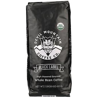 Devil Mountain Coffee Coffee Blck Labl Whl Bohne, Etui von 6 X 1 lb