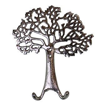 Livets träd vägg hängande dubbel kappa krok