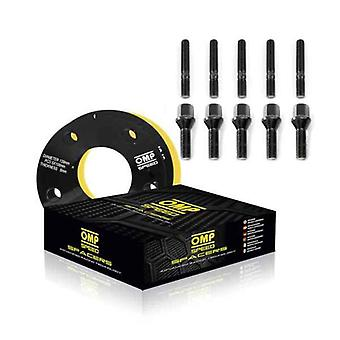 Set of dividers OMP 5x114,3 66,1 M12 x 1,25 + M14 x 1,50 5 mm
