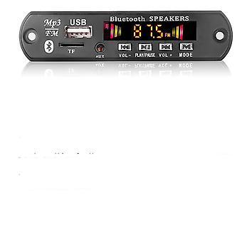 放大器 MP3 播放器解码器板蓝牙 5.0 汽车 Fm 无线电模块支持 Fm