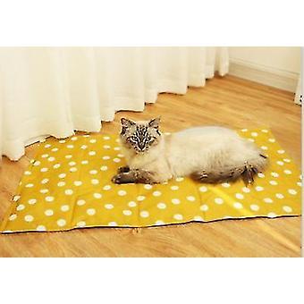 Jäätyyny kesäksi ja jäähdytystyyny koirille ja kissoille (keltainen)