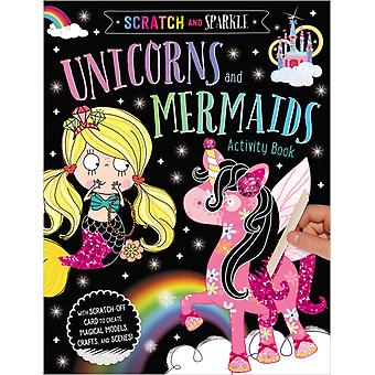 Unicorns and Mermaids Activity Book by Ltd Make Believe Ideas & Illustrated by Lara Ede