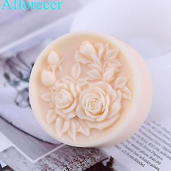 Flower Shaped Silicone DIY Handmade Soap Mold