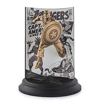 Marvel by Royal Selangor 0179020E Édition limitée Gilt Captain America The Avengers Figurine