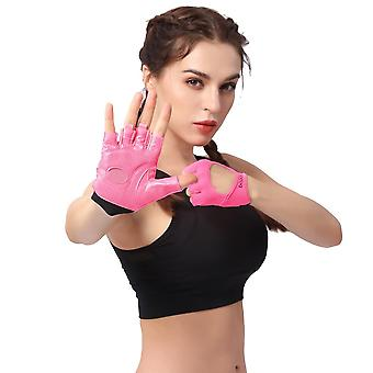 Fitness Gloves Half Finger Anti Slip Women's And Men's Sports Gloves Equipment Breathable Fighting Bicycle Riding Gloves