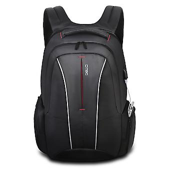 17 Inch Laptop Backpack With Usb Charging Port Anti-theft Pockets,stylish Travel Business Backpack-grey