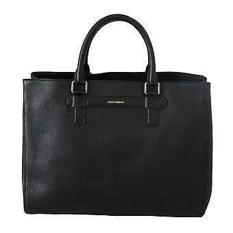 Mensageiro de viagem preto tote borse bolsa bolsa saco de couro