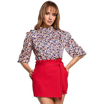 Made Of Emotion Women's M504 Blouse