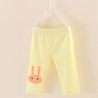 Girls Leggings Rabbit Kids Knee Pants Leggins