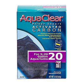 Aquaclear Aktivkohlefiltereinsätze - Für Aquaclear 20 Power Filter