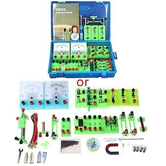 Electromagnetic Experiment Equipment Set Physics Labs Circuit Learning Kit Basic