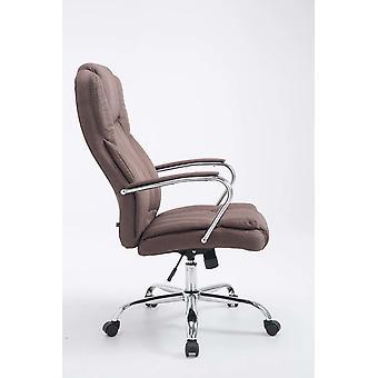 Toimistotuoli - Työpöytätuoli - Kotitoimisto - Moderni - Ruskea - 62 cm x 70 cm x 115 cm