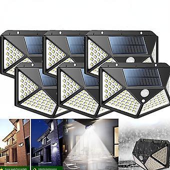 100led Solar Waterproof Motion Sensor Security Outdoor Light Wall Light