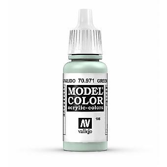 Vallejo Model Color 17ml Acrylic Paint - 971 Green Grey
