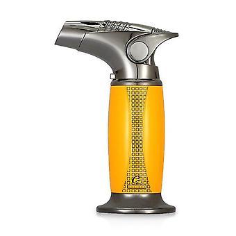 Cigar Lighter 1 Jet Torch Blue Flames Butane Gas Lighters Fire Adjustable Accessories