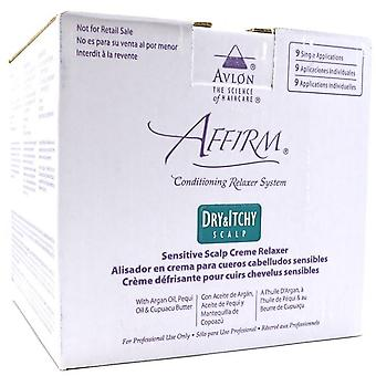 Affirm Dry & Itchy Scalp Hair Relaxer Kit 9 Application