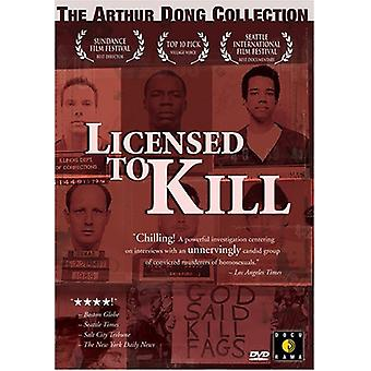 Licensed to Kill [DVD] USA import