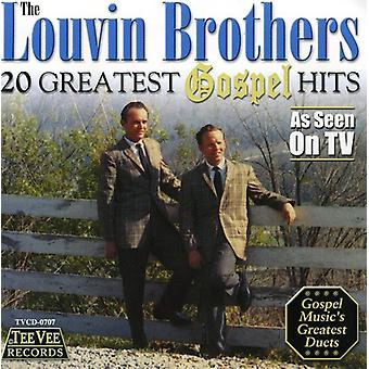 Louvin Brothers - 20 Greatest Gospel Hits [CD] USA import