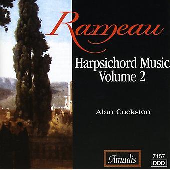 J. Rameau - Harpsichord Music 2 [CD] USA import