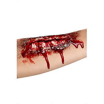 Öppna sår, latex