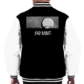 Sad Robot Marvin Hitchhikers Guide To The Galaxy Men's Varsity Jacket