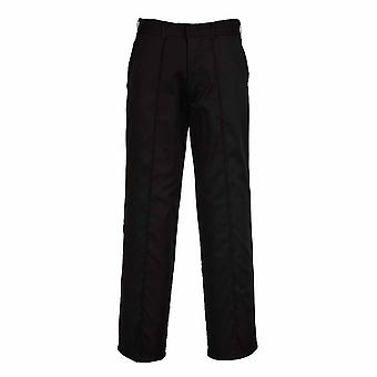 Portwest - Mayo Quality Uniform Workwear Polycotton Trouser With Sewn-In Crease
