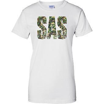 SAS Camo mots - en détresse - mondes meilleurs des Forces spéciales - dames T Shirt