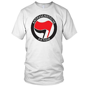 Antifa Anti fascistiske Aktion - G20 Anarchy Mens T-skjorte