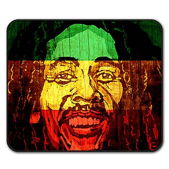 Marley Face Celebrity  Non-Slip Mouse Mat Pad 24cm x 20cm | Wellcoda