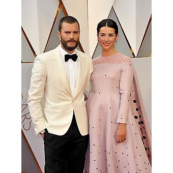 Jamie Dornan Amelia Warner At Arrivals For The 89Th Academy Awards Oscars 2017 - Arrivals 3 The Dolby Theatre At Hollywood And Highland Center Los Angeles Ca February 26 2017 Photo By Elizabeth Gooden