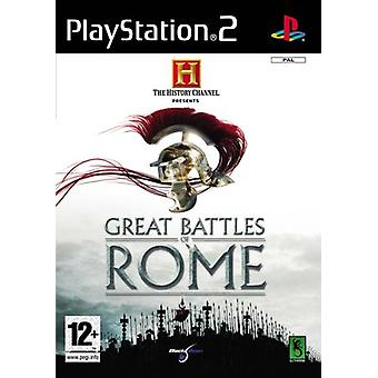 History Channel Great Battles of Rome (PS2) - New Factory Sealed