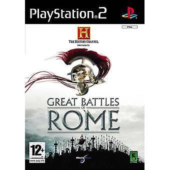 History Channel Great Battles of Rome (PS2) - Neue Fabrik versiegelt